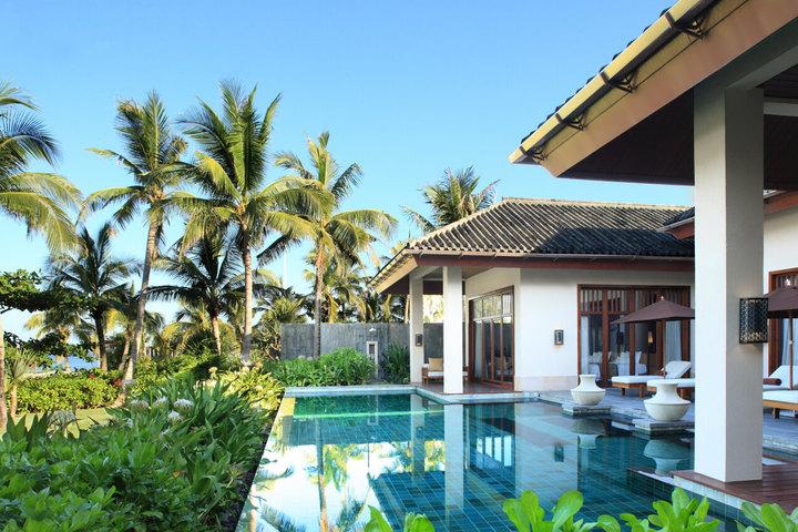 三亚半山半岛安纳塔拉度假酒店(两居临海泳池别墅)