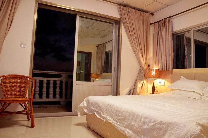 莆田湄洲岛e家人度假宾馆—海景大床房