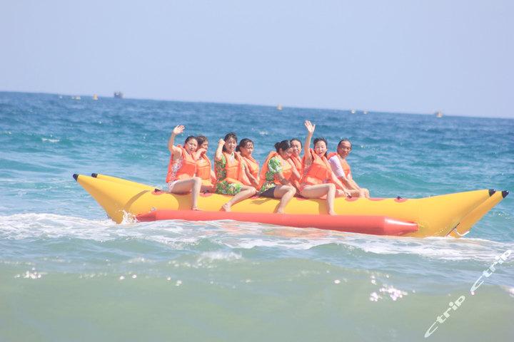 三亚百乐国际潜水中心(香蕉船单人票)团购-三亚景点-