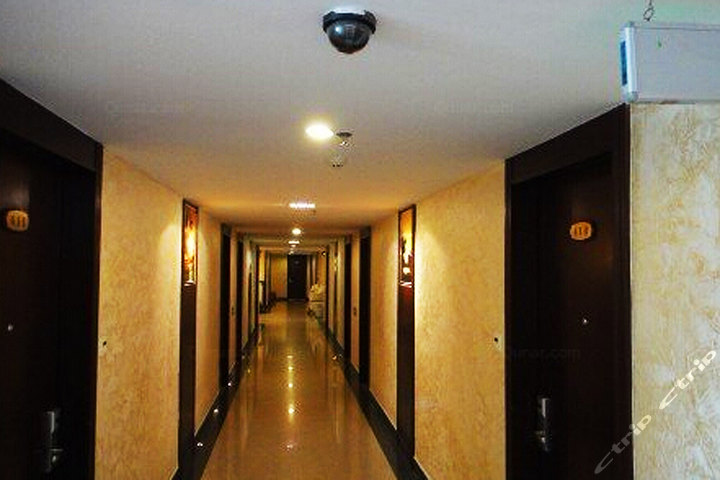 台山下川岛桂园酒店标准双人房别墅-复式888元原价二层团购半图片