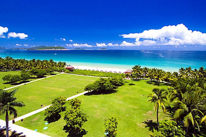 三亚亚龙湾红树林度假酒店—草坪