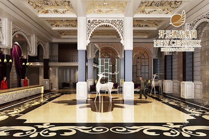 千岛湖开元曼居酒店—大堂