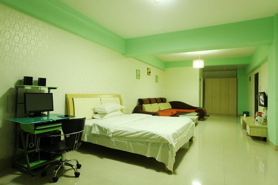 南宁桃花园公寓式酒店—豪华单间 南宁桃花园公寓式酒店—外观