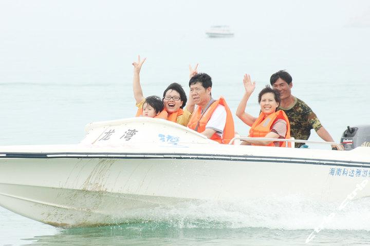 [河西区]三亚百乐国际潜水中心-快艇观光-可坐4人