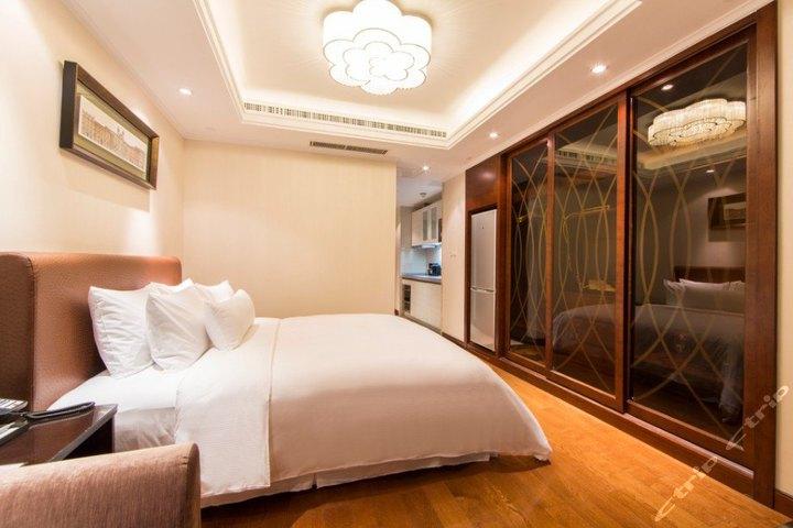 中铁青岛中心酒店公寓(豪华大床房)