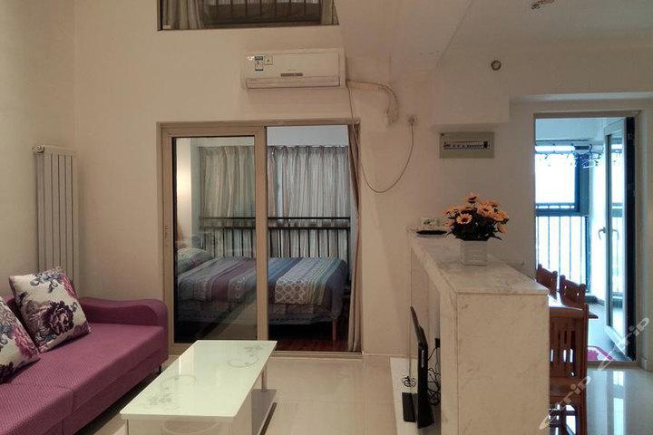 武汉光谷天地安可儿酒店公寓-豪华复式套房