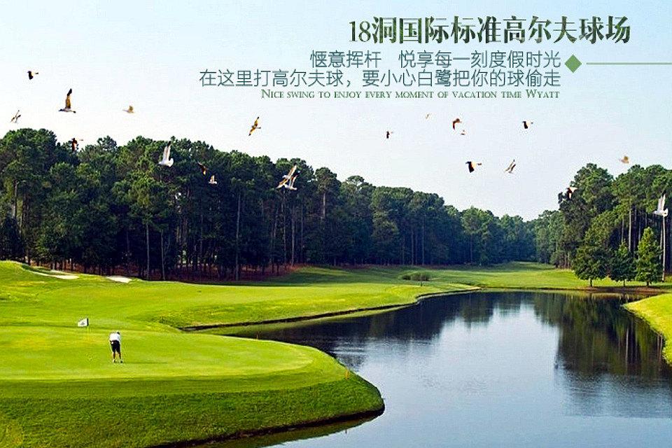 惠州全球候鸟度假酒店—高尔夫球场