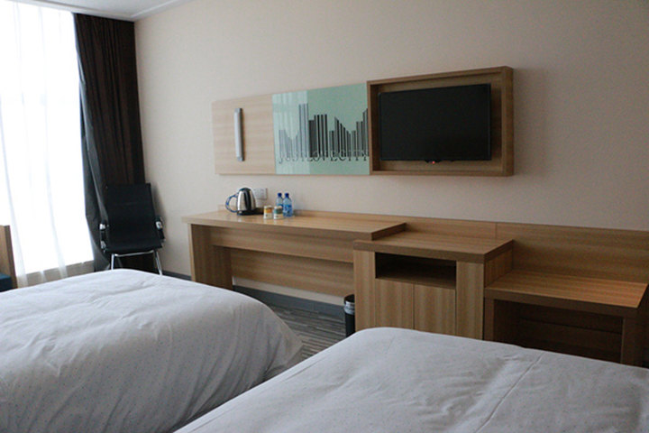 城市便捷酒店 武汉百度大厦 商务双床房 团购