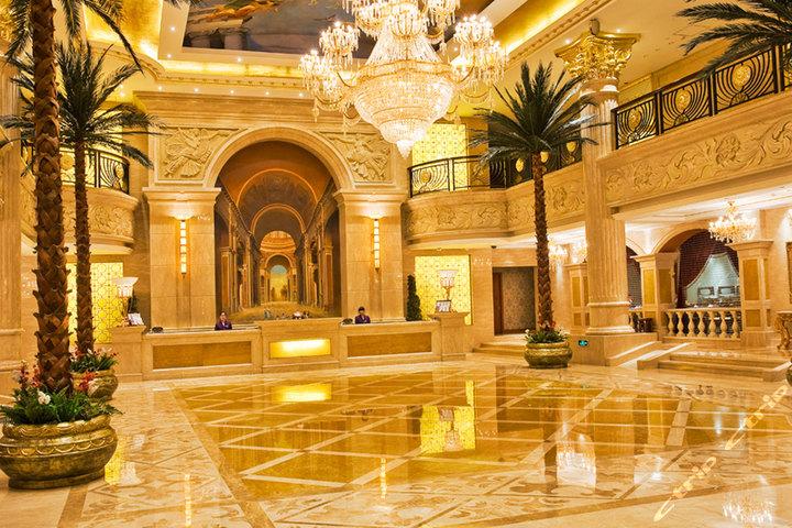 哈尔滨新巴黎大酒店—大堂
