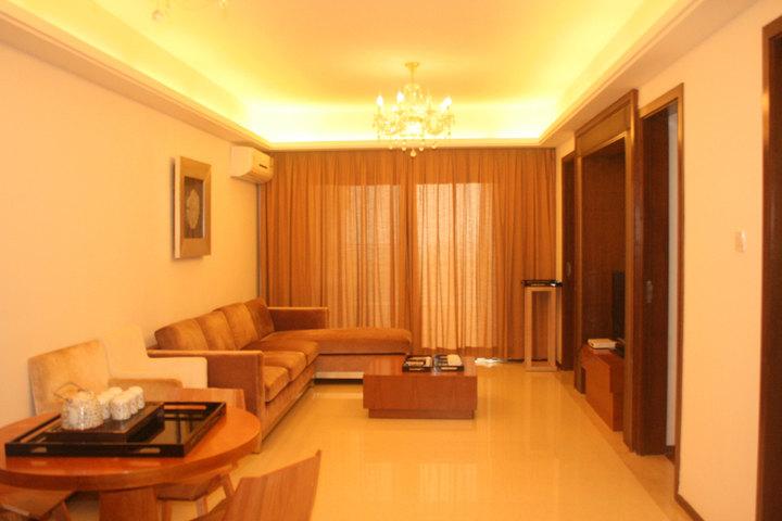 陵水清水湾喜悦时光度假公寓—豪华园景两室一厅套房
