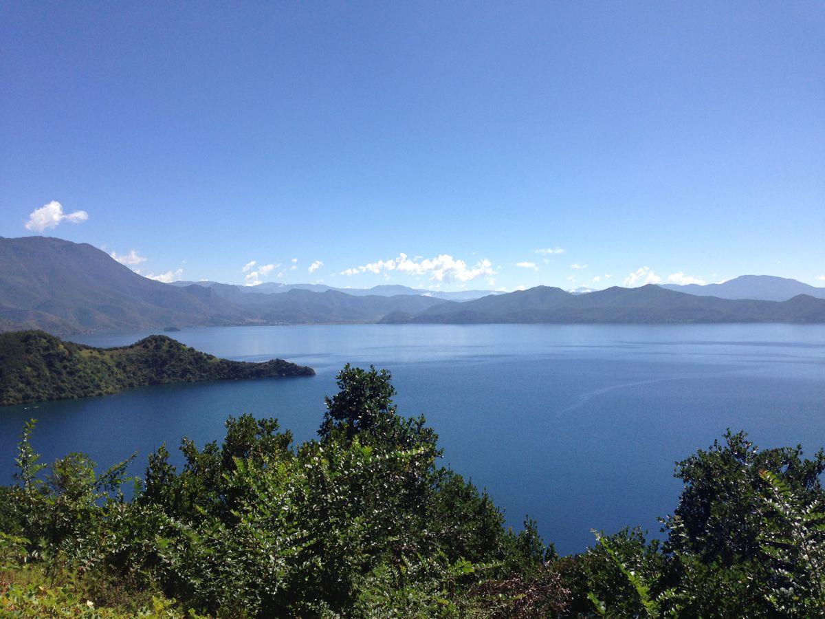 泸沽湖风景图片洛水