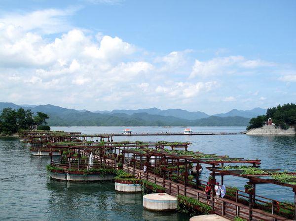 杭州千岛湖天然氧吧abc线及漂流3日自由行(吃住行玩超