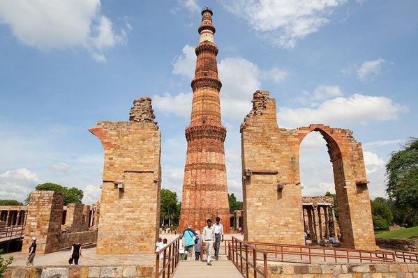 了古印度文明的灿烂,惊叹于前人那些璀璨的建筑艺术图片