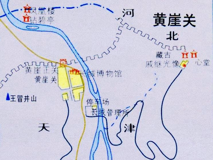 蓟县地图全图高清版