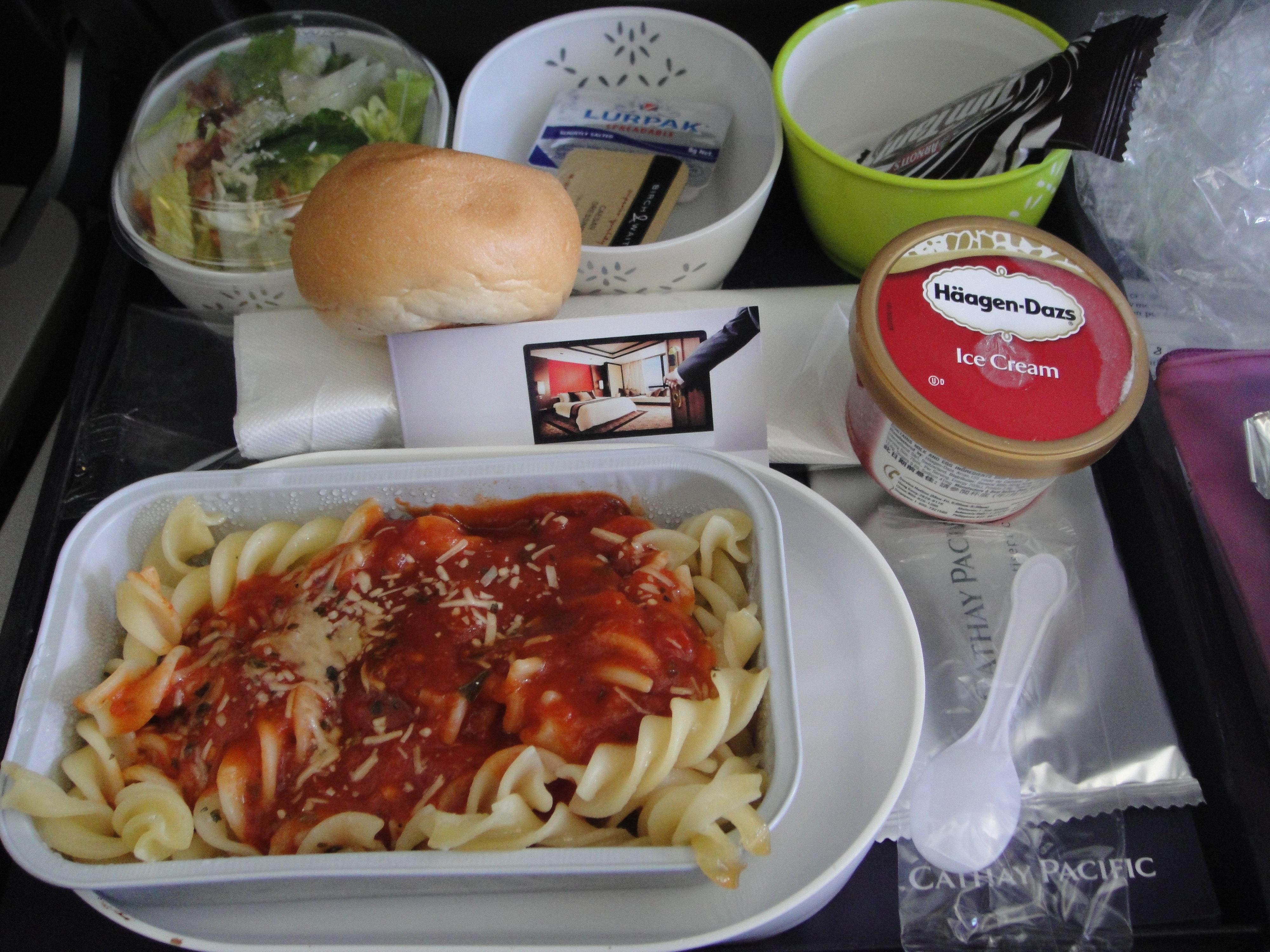 香港航空飞机餐