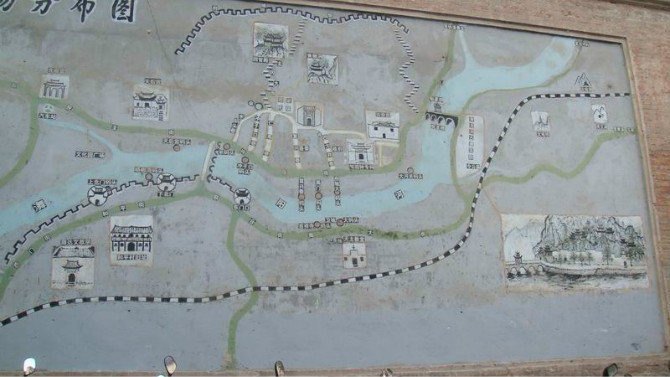 地图上画一条线,向西游(安徽九华山-贵州镇远