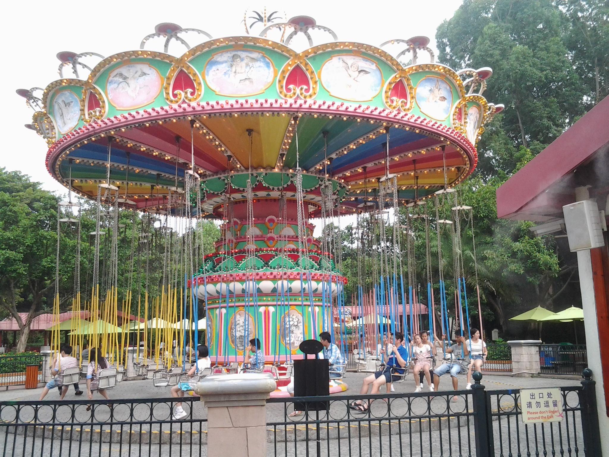 广州游记  长隆旅游度假区分4个景区即长隆欢乐世界,长隆野生动物园