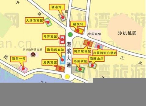 广东省阳江市阳西沙扒湾