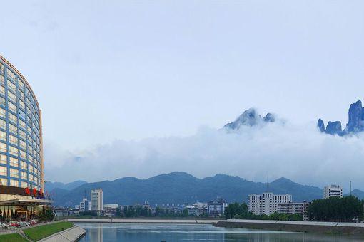 新中式民宿外观