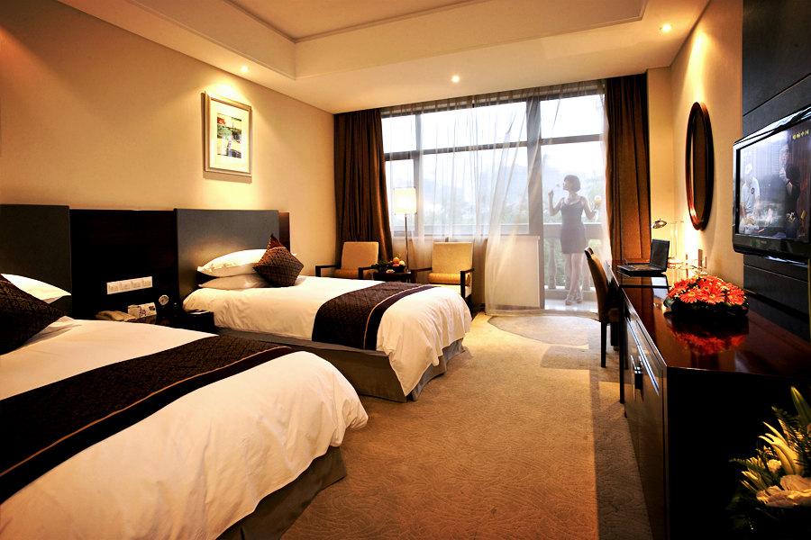 淮安国信大酒店(豪华景观双床房+娱乐+水果)