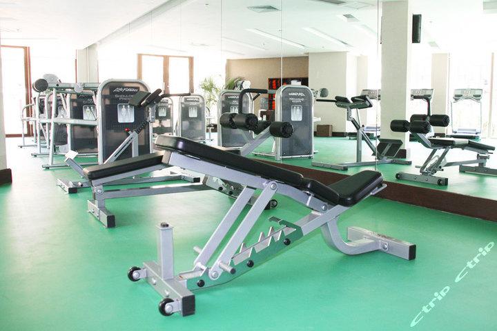 三亚亚龙湾铂尔曼度假酒店—健身房