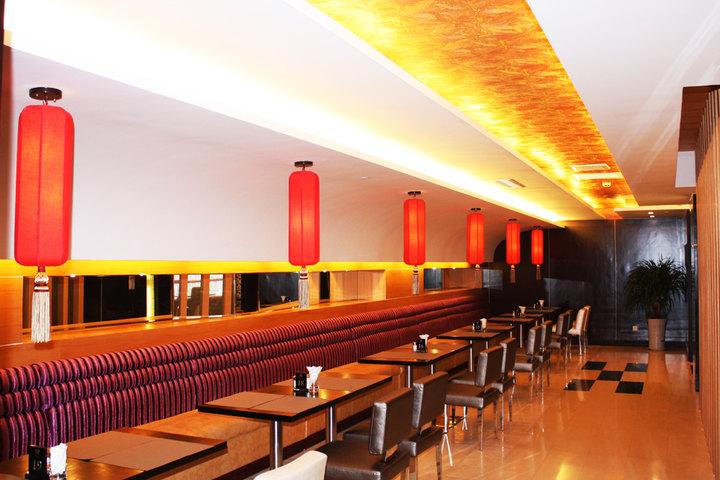 天水阳光饭店—23f观光西餐厅