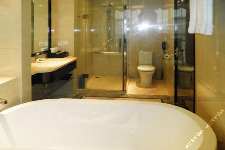 重庆万盛国际大酒店-商务标准间卫生间