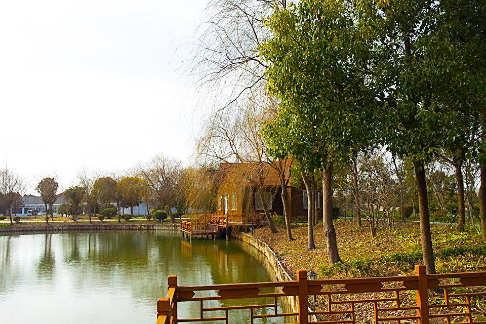 上海崇明西岭酒店(1室小木屋 博物馆票)