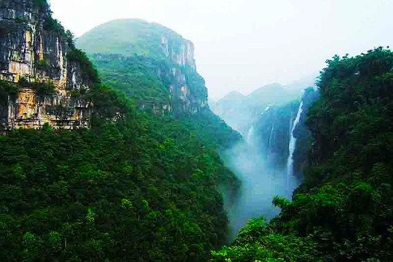 1,德天瀑布,通灵大峡谷,北海,涠洲岛四日游1人次