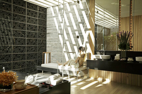 三亚半山半岛洲际度假酒店-水疗浴室