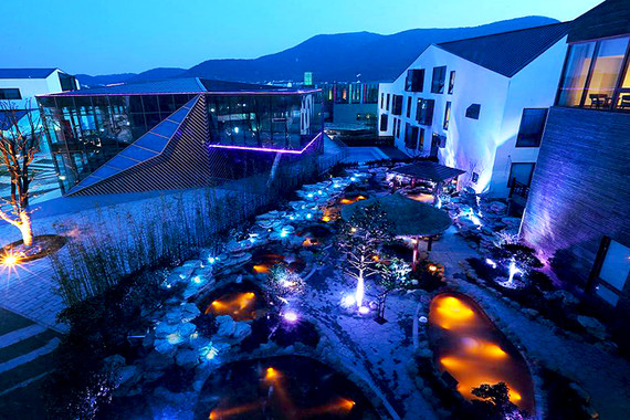 苏州书香世家树山温泉度假酒店—夜景