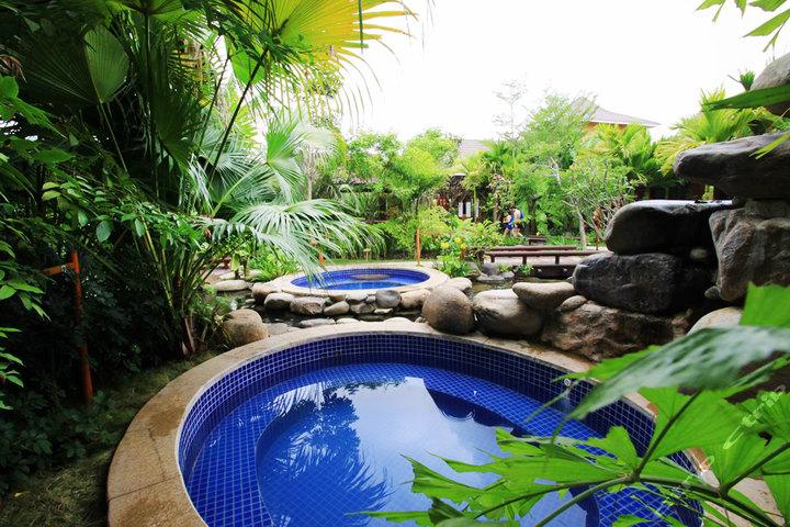三亚南田温泉好汉坡凯莱度假酒店—温泉