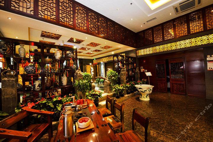 白银鸿森大酒店—中式茶餐厅
