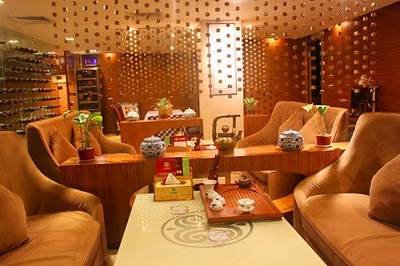西餐厅欧式休息室装修效果图