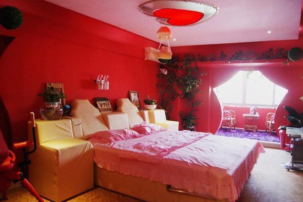 欧式情趣主题酒店房间图片