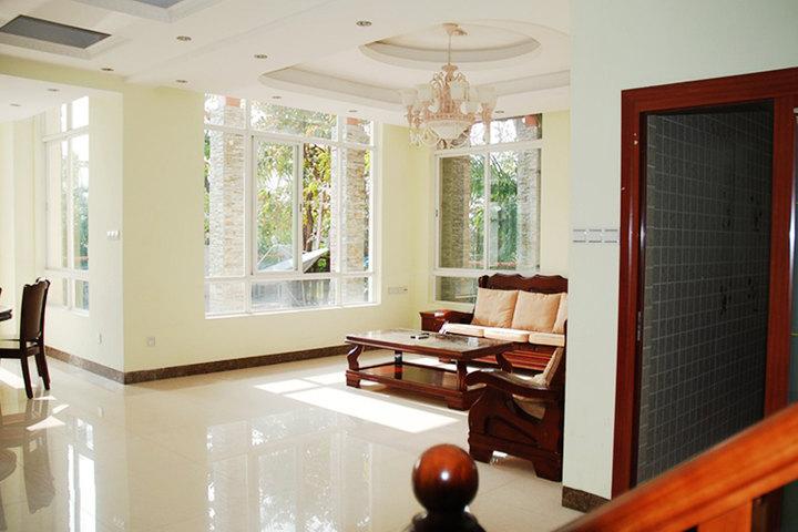 友家v公寓公寓(三亚亚龙湾申亚翡翠谷店)客厅别墅客房别墅大门法式图片
