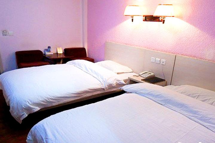 宾馆位于西安市金花北路,老动物园对面,距离工程学院100米,距西安理工