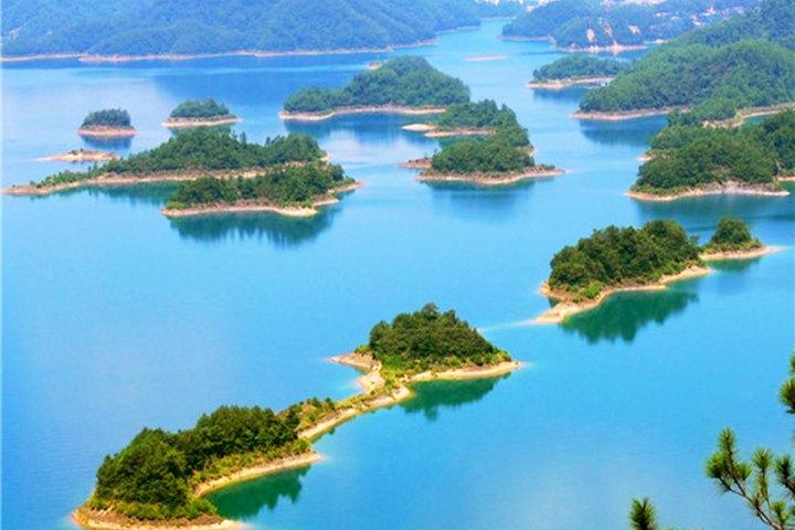 【杭州出发千岛湖秀水一日纯玩游团购】杭州出发秀水