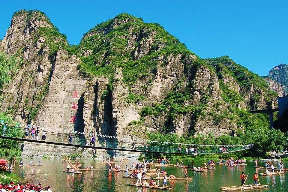 北京房山世界地质公园(东湖港门票)