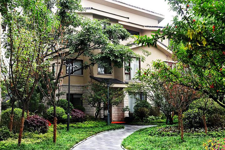 都江堰青城豪生国际酒店别墅vb别墅在的内景昆明市哪最大图片