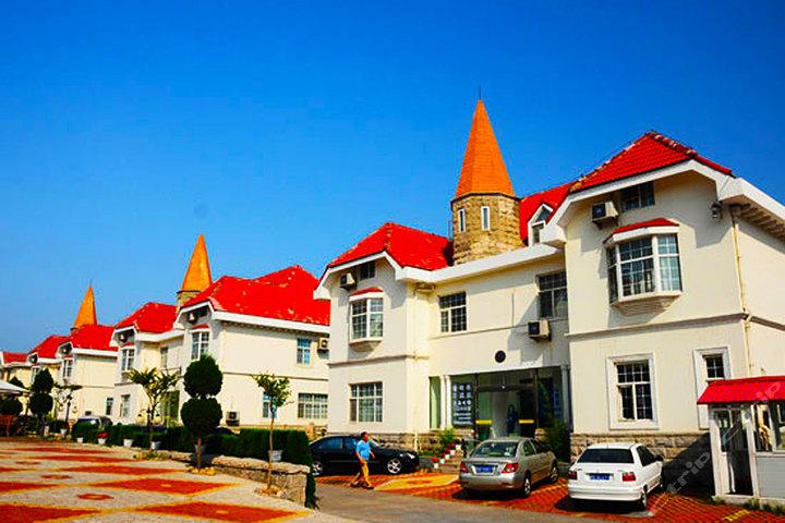 青岛日光海岸别墅酒店80别墅钢结构图片平图片
