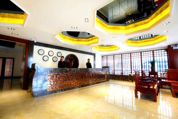 尊享汉庭酒店 丹东火车站店 双床房1晚 丹东市振兴区锦山大街4号 位于