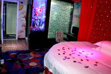 宾馆水床房图片