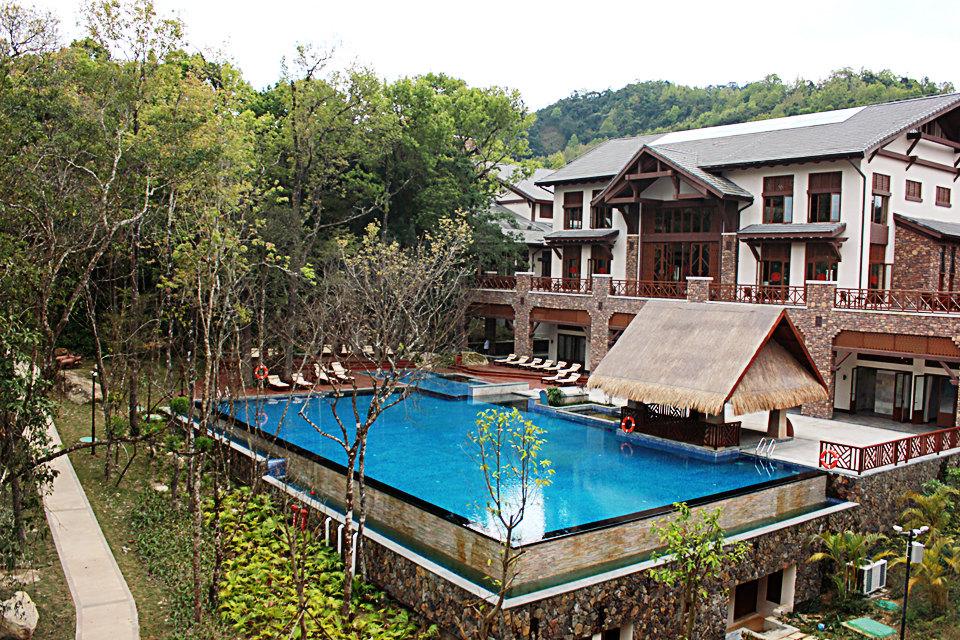 【含早】五指山亚泰雨林度假酒店(雨林豪华别墅房)图片