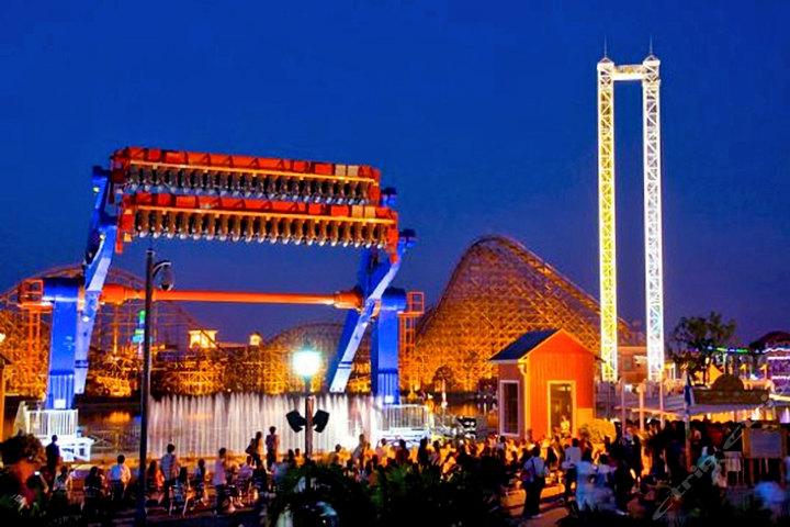 2014上海欢乐谷夜场_2015上海欢乐谷夜场游玩攻略- 上海本地宝