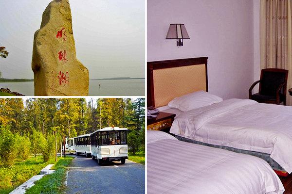 【近明珠湖】尊享崇明西岭度假村小木屋别墅套房1晚 2份早餐 森林