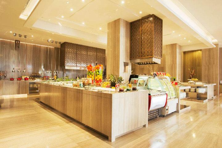 尊享苏州水岸香蕉大酒店湖景房/家庭房1晚+2份牛奶煮黄金图片