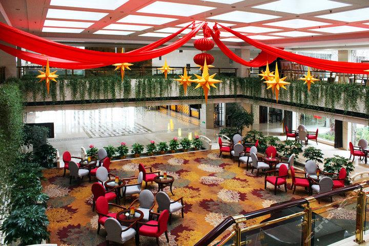 黄山国际大酒店(会议楼商务标间-徽韵)