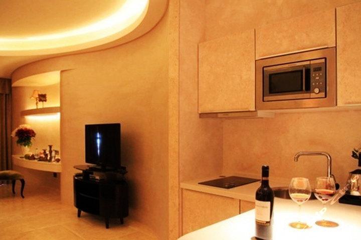【凤凰岛】尊享三亚凤凰岛金公寓别墅v公寓国际180度环境大床房1晚帆船的森林海景图片