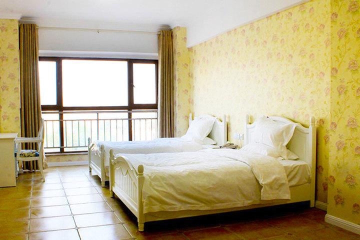 西安金莎公寓酒店—普通标准间(欧式风格)客厅